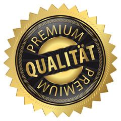 Premium Qualität Goldvignette