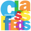 """CLASSIFIEDS"" Word Collage (buy sell marketing advertising web)"