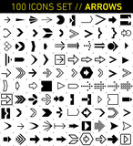 100 Icons - Arrows