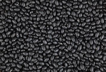 Black beans background