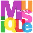 """Mosaïque de Lettres """"MUSIQUE"""" (concert écouter télécharger mp3)"""