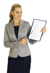 Business woman - Stock Image
