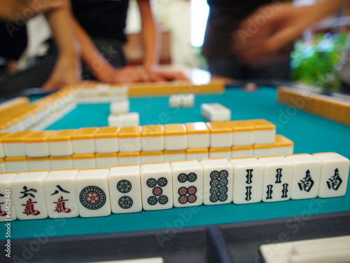 An ancient Chinese game called Mahjong as a way to spend your fr