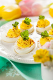 deviled eggs with paprika