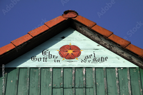 Hausdetail in Barntrup-Sommersell
