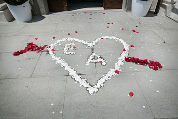 cuore di fiori
