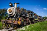Steam train, locomotive tourist attraction, Trinidad Iznoga Cuba