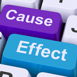 Cause Effect Keys Means Consequence Action Or Reaction