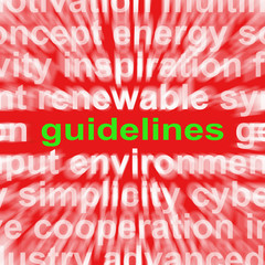 Guidelines Word Means Instructions Protocols And Ground Rules