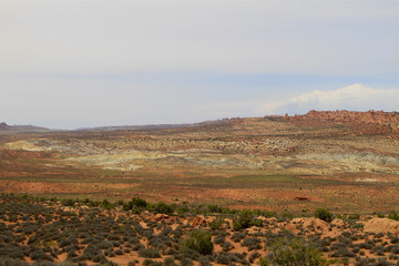paysage dans Arch national park, Arizona