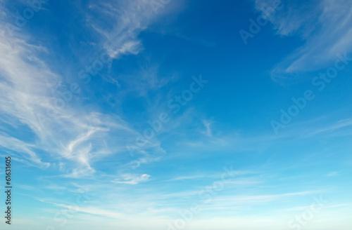 Leinwanddruck Bild blue sky