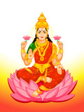 Indian Goddess Lakshmi