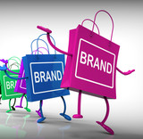 Brand Bags Represent Marketing, Brands, and Labels