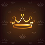 crown stylized symbol