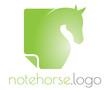 Horse note logo