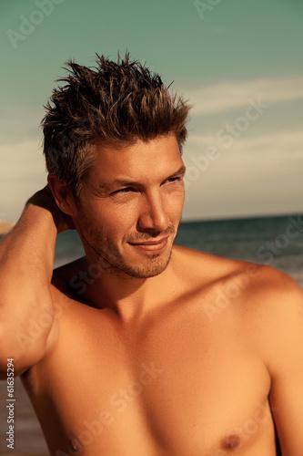 male summer portrait
