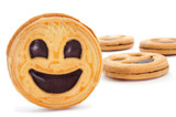 smiley biscuits