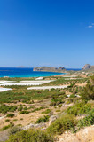 Amazing view over the bay of Falassarna, Crete island, Greece
