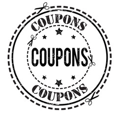 Coupons stamp