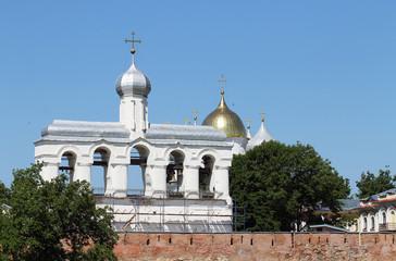 Bell tower in Kremlin