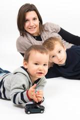 maman et ses enfants