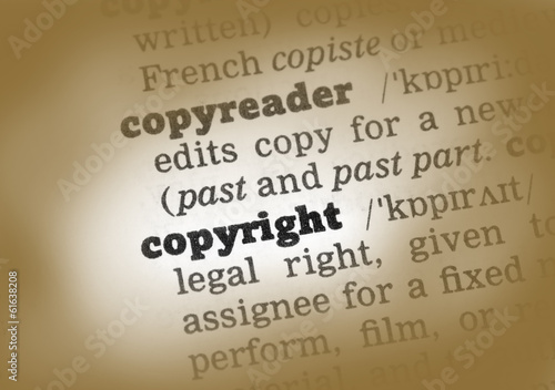 Copyright Dictionary Definition