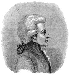 Mozart - Portrait - (18th century)