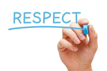 Respect Blue Marker