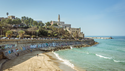 View of Jaffa from the Tel Aviv Promenade