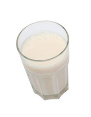 Nutrient glass of milk