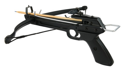 Crossbow with pencil