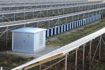 Trafos in Solarpark