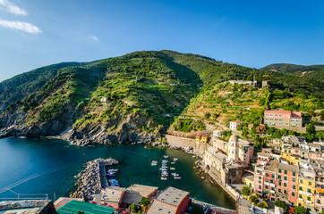 Cinque Terre, Vernazza. Italia