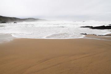 Playa de Verdicio. Concejo de Gozón, Asturias.