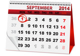 holiday calendar September 1