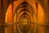 Baths of Lady Maria de Padilla in Alcazar of Seville