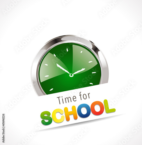 Stopwatch - Time for school