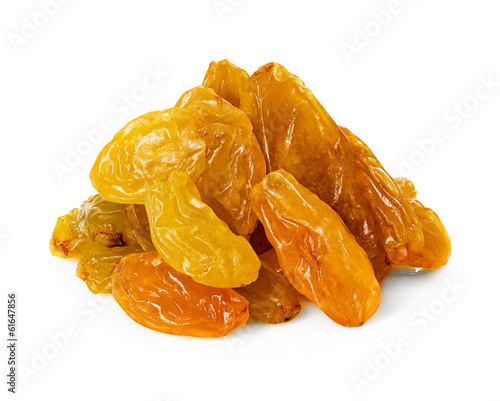 raisins isolated
