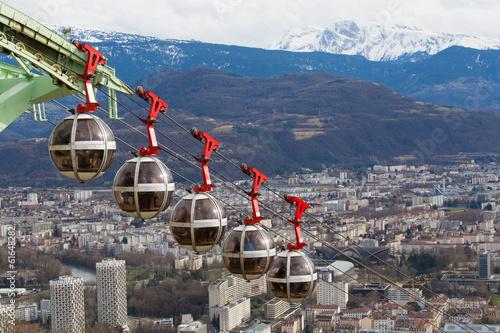 Papiers peints Alpes Les bulles de Grenoble