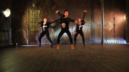Dancers team.
