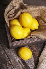 Fresh Raw Lemons