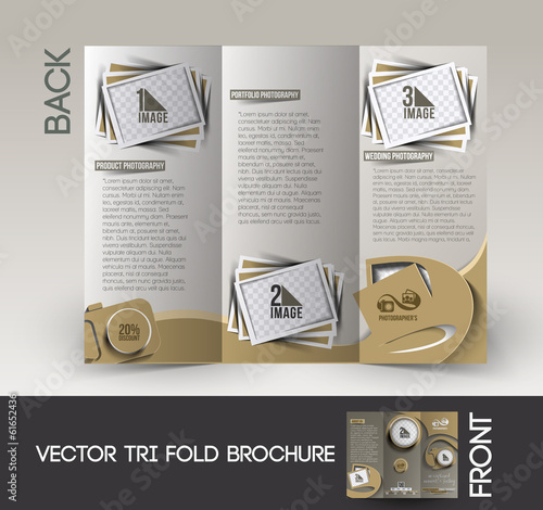 Photography Studio Brochure Design.