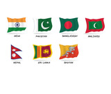 flag of South Asia