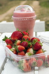 strawberry and smoothies