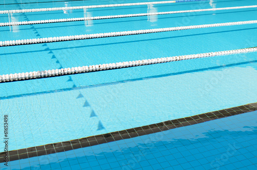 Swimming Pool and clearly marked lanes