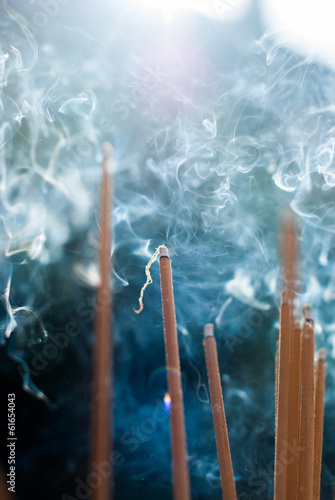 incense stick prepare for pray respect to the buddha