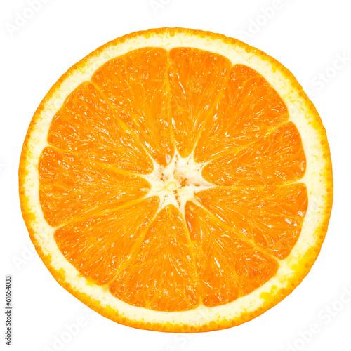 Leinwanddruck Bild orange slice