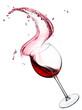 red wine splash - 61654497