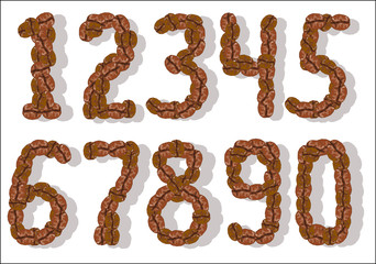 coffee bean numbers