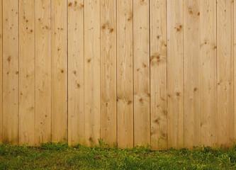 Hintergrund Bretterwand aus Fichtenholz